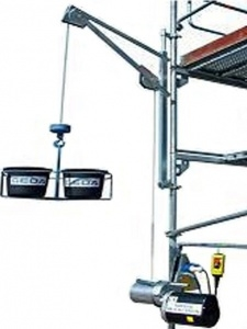 Schwenkarm für GEDA-Bauaufzüge gebraucht