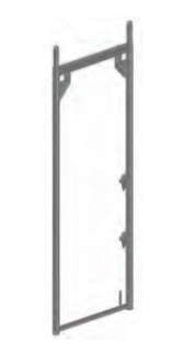 Alu-Vertikalrahmen B 73 x H 200 - neu