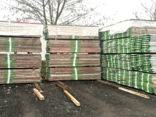 Holzboden Plettac SL B 32 x L 300 - gebraucht