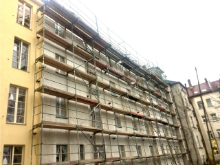 Plettac gebrauchtes Fassadengerüst SL 70 ca. 306m²