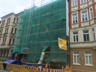 Plettac 765m² gebrauchtes Fassadengerüst SL 70