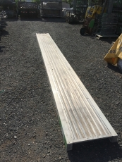Alu Bridge Length 8,12m W 60 x L 812 - used