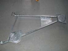 Swivel arm for industrial elevators from GEDA - used