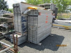 Layher scaffolding equipment - used