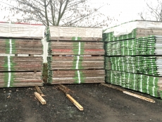 Timber deck Plettac W 32  L 300 - used