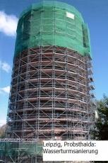 Plettac Gerüst gebraucht 183,6m² SL 70 Arbeitshöhe 10,20m x  18,00m